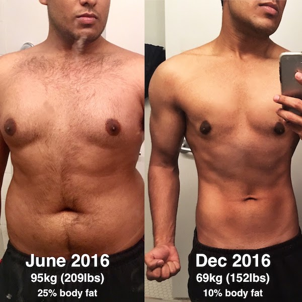My Transformation: How I lost 66 pounds and gained a 6 pack